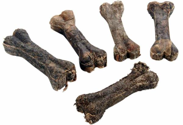 Kauknochen aus Rinder-Pansen Groesse 2