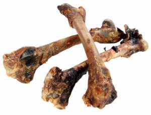 Hirschknochen vom Wild
