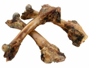 Lamm-Oberschenkelknochen