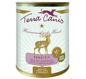 Terra Canis Sensitiv Menue Wild 800 Gramm