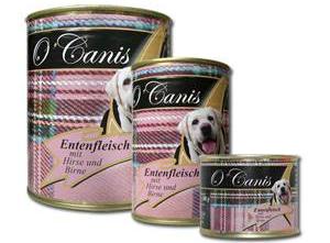O`Canis Entenfleisch mit Hirse und Birne 400 gr.