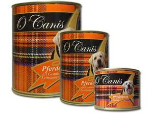 O`Canis Pferdefleisch mit Gemüse und Leinsamen 800 gr.