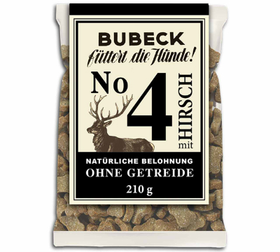 Bubeck No 4 Hirsch 210 gr