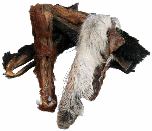 Pferdekopfhaut mit Fell