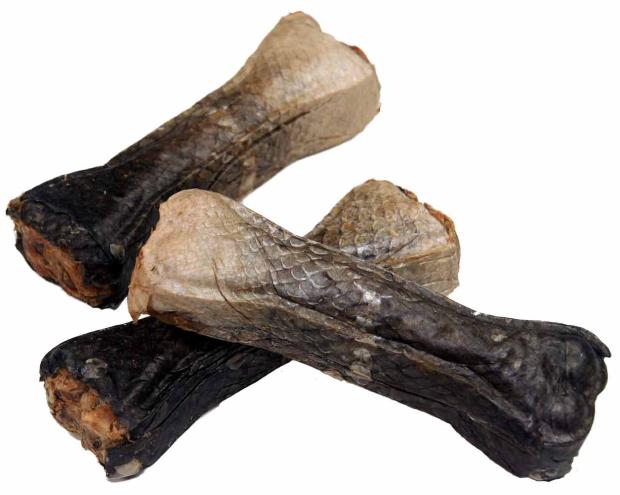 Kauknochen 100% Lachs (EU) - ca.12cm