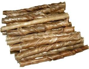 100 Stück Kauröllchen 9-10 mm - ca.800-840 gr. - Kaurollen für Hunde