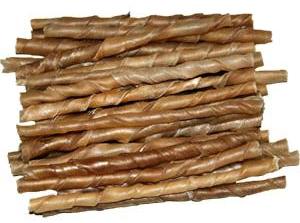 100 Stück Kauröllchen 7-8 mm - Kaurollen für Hunde