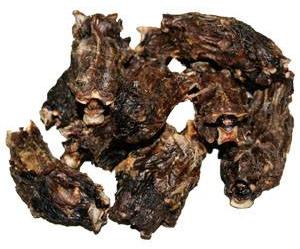 Rehhals geschnitten - Reh- und Hirschfleisch für Hunde
