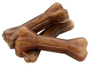 Kauknochen 100 Hirschhaut ca 12cm