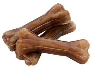 Kauknochen 100 Hirschhaut 12cm Langanhaltende Kauartikel