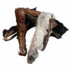 Pferdekopfhaut mit Fell -15cm