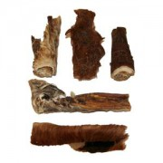Rinderkopfhaut mit Fell ca.30 cm
