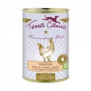 Terra Canis - Senior-Menü Huhn 400 gr.
