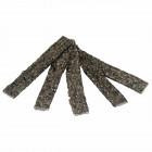 Lachshaut-Kaustreifen 12cm - 100% Lachs