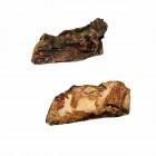Kamel-Rippen geschnitten