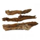 Hirschhautstreifen mit Fell und Fleisch