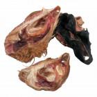 Rinderohrmuschel mit Fell