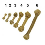 Knotenknochen Gr.5 - 25cm/150-160gr.