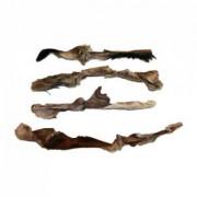 Pferdehautstreifen mit Fell ca.15-20 cm