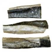 Lachshaut geschnitten