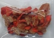 Süßkartoffelstücke mit Hähnchen