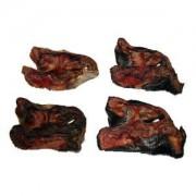 Kälbernasen geschnitten mit Fellansatz