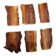 Roastbeef-Sehnen geschnitten