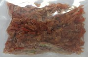 Fein geschnittene Entenfleischstücke