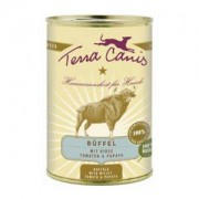 Terra Canis - Büffel mit Hirse, Tomaten & Papaya 400 gr.
