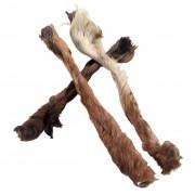 Pferdehautstreifen mit Fell ca.30-40 cm
